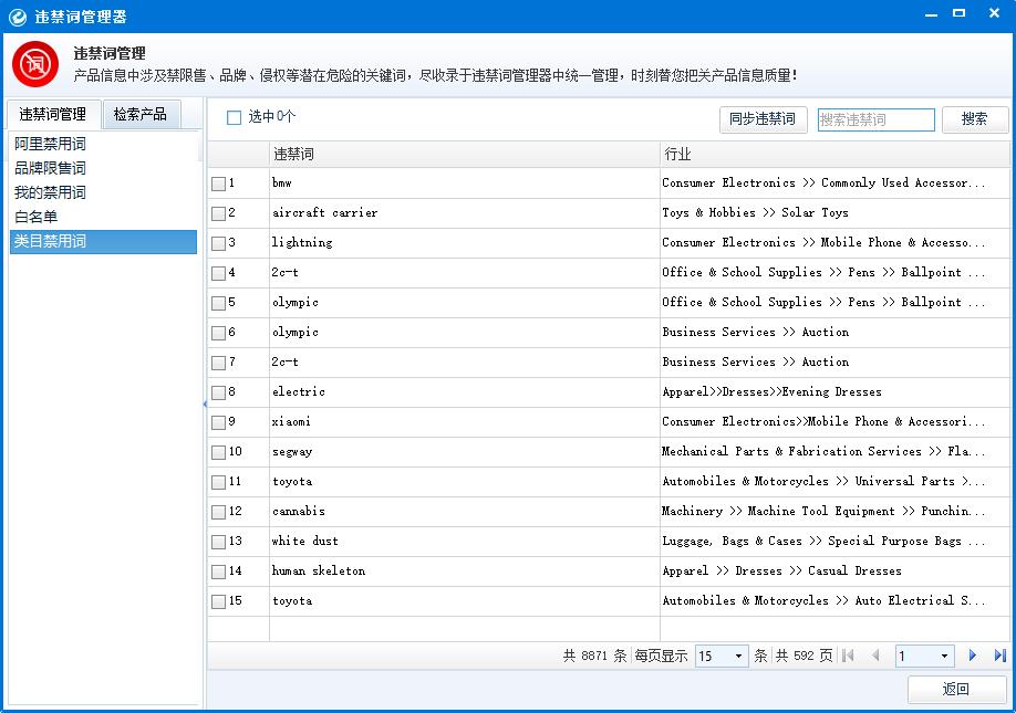 阿里国际平台品牌禁限售词 alibaba整站优化  阿里国际站极限词 违禁词